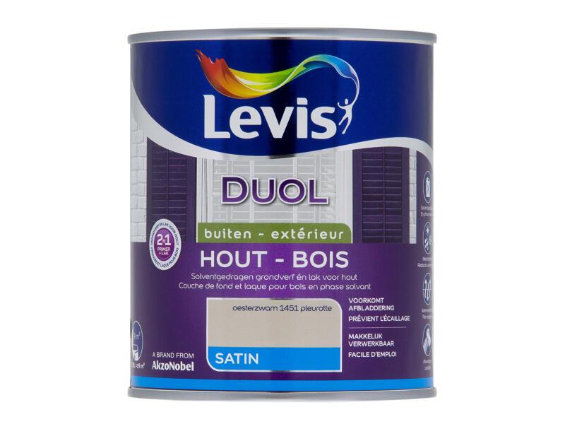 Levis Duol laque bois satin 0,75l pleurotte