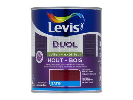 Levis Duol laque bois satin 0,75l rouge vin