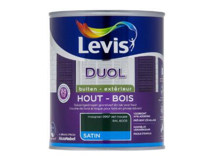 Levis Duol laque bois satin 0,75l vert mousse