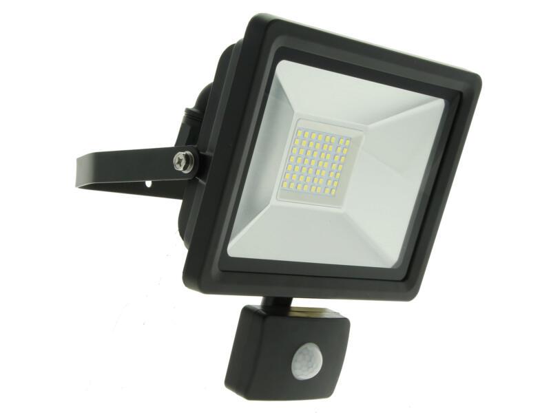 Prolight Easy Connect projecteur LED avec détecteur PIR 30W