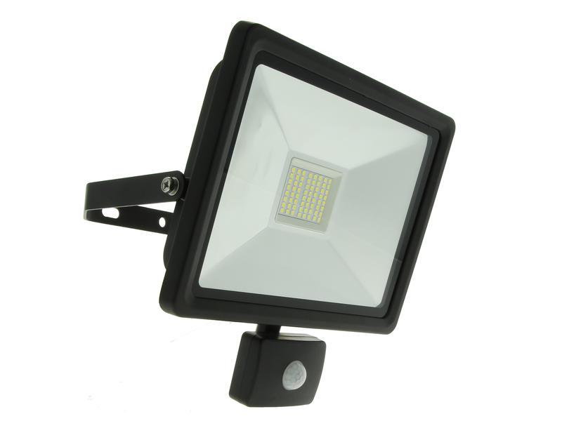 Prolight Easy Connect projecteur LED avec détecteur PIR 50W