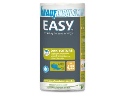 Knauf Insulation Easy isolation toiture laine de verre 390x80x16 cm R4,55 3,12m²