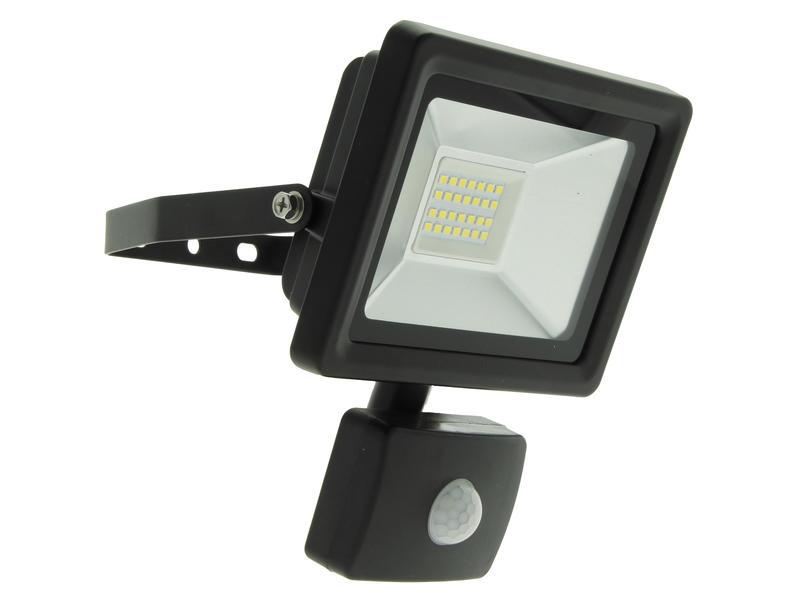 Prolight EasyConnector projecteur LED avec détecteur de mouvement 20W