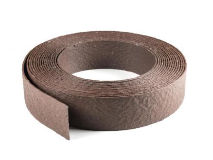 AVR Ecolat bordure flexible 14cm 10m brun