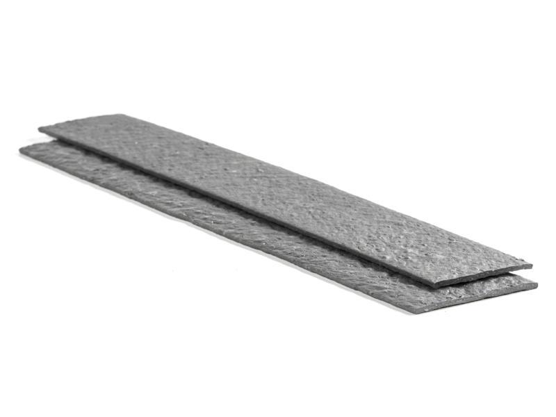 AVR Ecolat grasrand 120x14x1 cm grijs