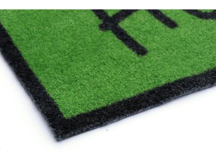 Elegance voetmat welcome 50x70 cm groen