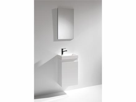 Lafiness Element meuble salle de bains 40cm blanc