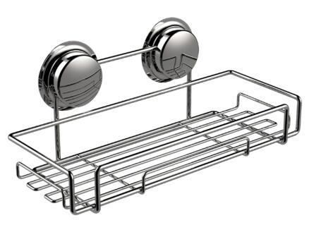 Elementals Suction étagère de douche 30cm chrome