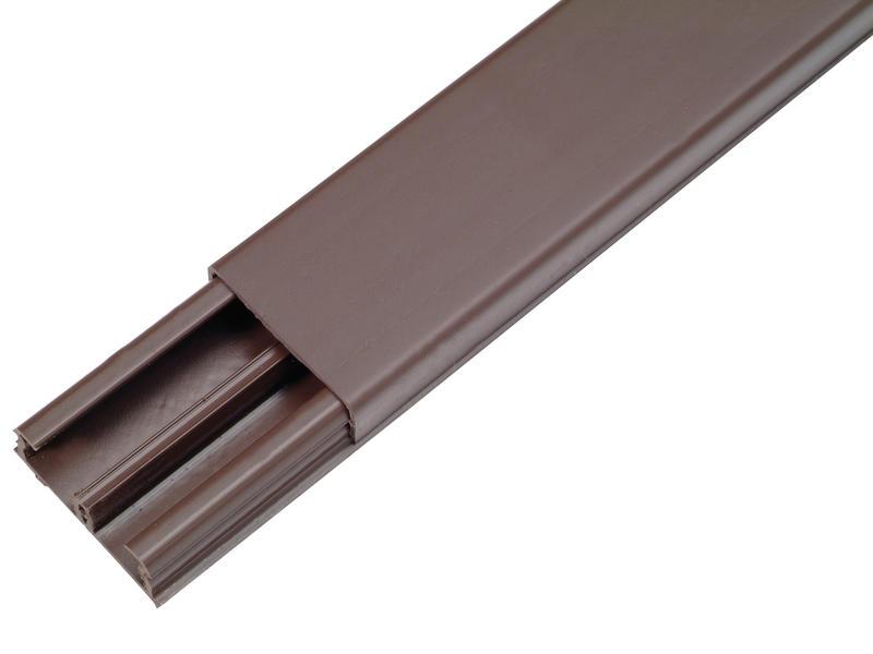 Legrand Elfix lijst 32x12,5 mm 2,1m bruin