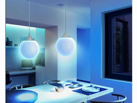 Wiz Elixir suspension LED 15W + télécommande blanc