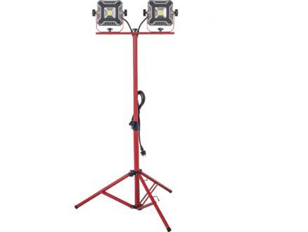 Eloy LED werklamp op statief 2x30W