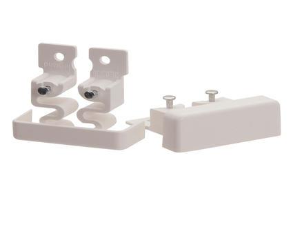 Legrand Embout DLP 32x12,5 mm blanc 2 pièces