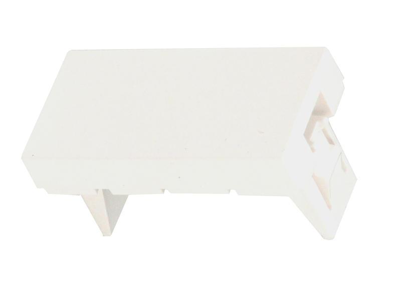 Legrand Embout Mosaic blanc 1 module