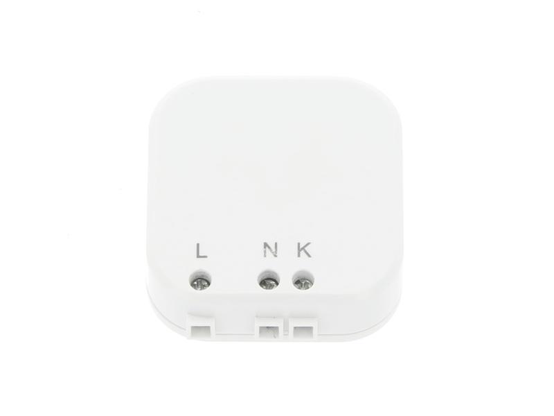 Profile Emetteur à encastrer mini Qnect RF blanc