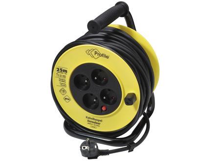 Profile Enrouleur de câble 3G1,5 25m