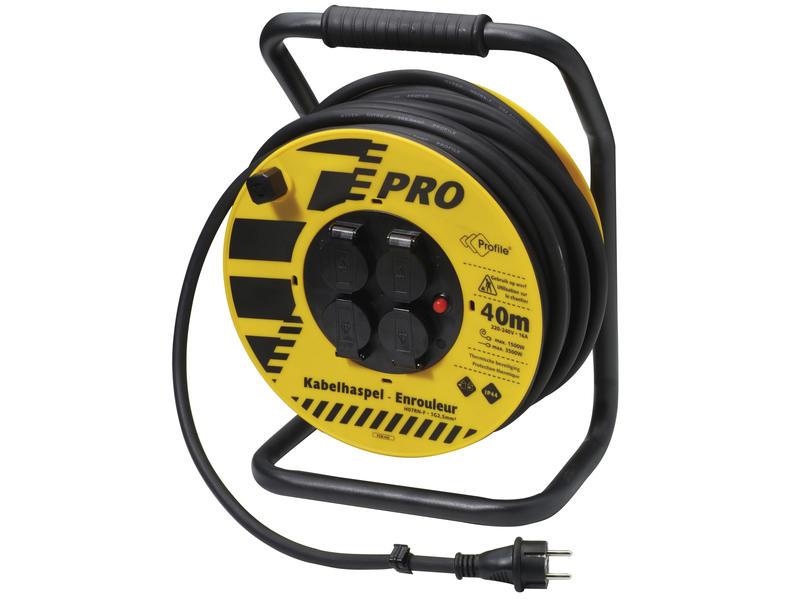 Profile Enrouleur de câble électrique 3G2,5 40m