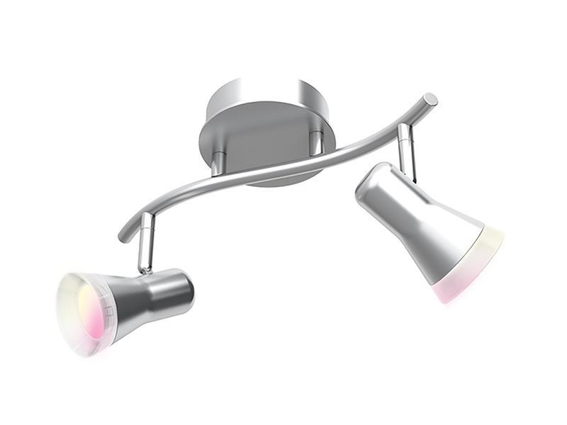 iDual Epona barre de spots LED 2xGU10 dimmable