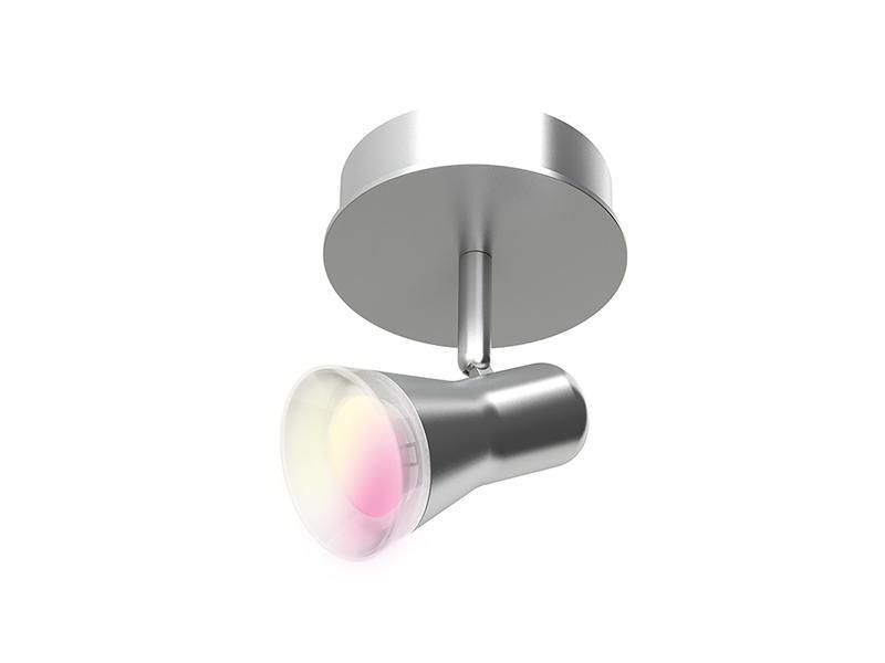 iDual Epona spot GU10 5W dimbaar + afstandsbediening