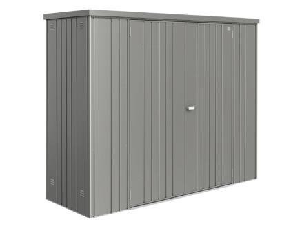 Biohort Equipment Locker 230 armoire de jardin 227x83x182,5 cm gris quartz métallique