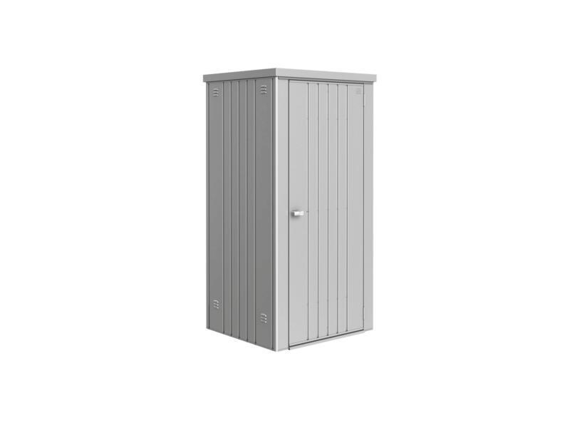 Biohort Equipment Locker 90 tuinkast 93x83x182,5 cm zilver metallic