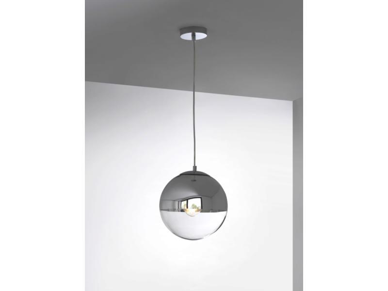 MEO Erice hanglamp E27 40W chroom