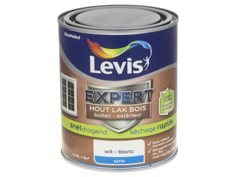 Levis Expert lak buiten zijdeglans 0,75l wit