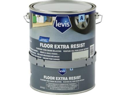 Levis Extra Resist vloerverf zijdeglans 2,5l parelgrijs