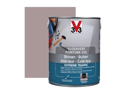 V33 Extreme Traffic peinture sol très sollicité satin 2,5l argile