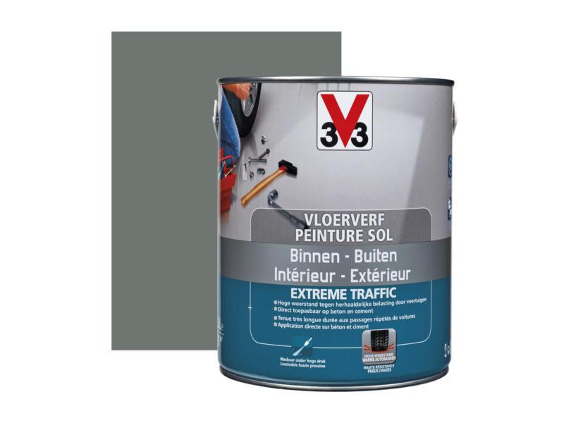 V33 Extreme Traffic peinture sol très sollicité satin 2,5l béton