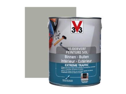 V33 Extreme Traffic peinture sol très sollicité satin 2,5l carbone