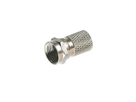 Profile F-connector mannelijk 6,6mm 5 stuks