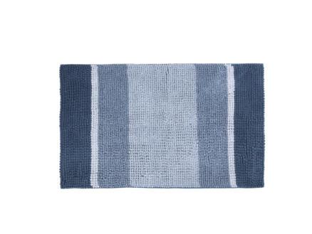 Differnz Fading badmat 90x60 cm blauw