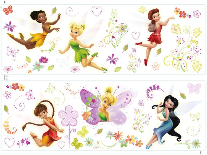 Disney Fairies muurstickers