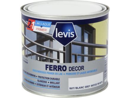 Levis Ferro decor laque brillant 0,5l blanc