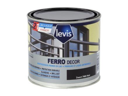 Levis Ferro decor laque brillant 0,5l noir