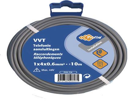 Profile Fil VVT 4G 0,6mm² 25m gris