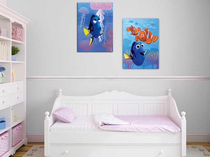 Disney Finding Dory toile imprimée 50x70 cm dory