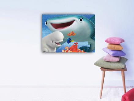 Disney Finding Dory toile imprimée 70x50 cm