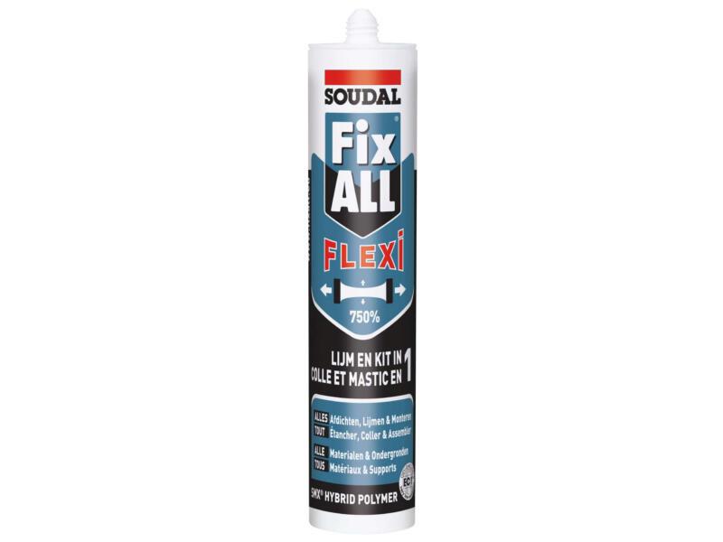 Soudal Fix All Flexi colle de montage 290ml gris