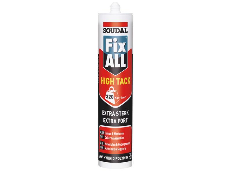 Soudal Fix All High Tack montagelijm 290ml beige