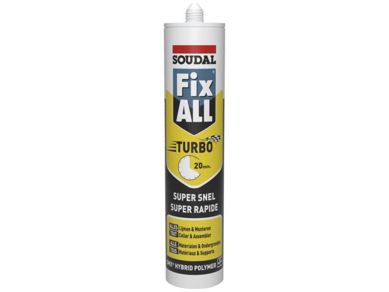 Soudal Fix All Turbo alleslijm 290ml grijs