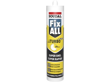 Soudal Fix All Turbo montagelijm 290ml wit