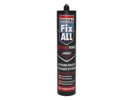 Soudal Fix All X-Treme Power colle universelle 290ml noir