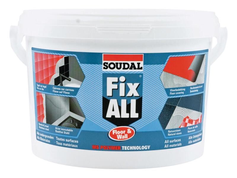 Soudal Fix All floor & wall montagelijm 4kg