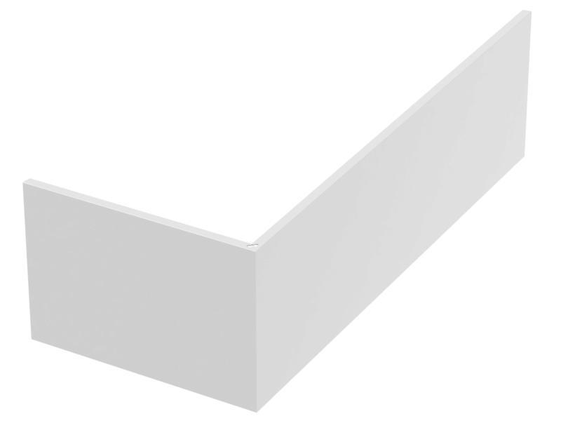 Allibert Fix Alu badmantel hoek 180x80x53,5 cm