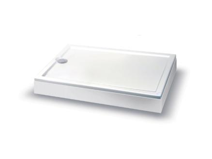 Allibert Fix tablier pour receveur de douche 90cm blanc