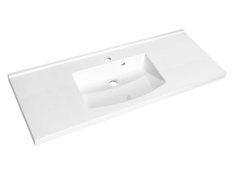 Allibert Flex lavabo encastrable 120cm polybéton