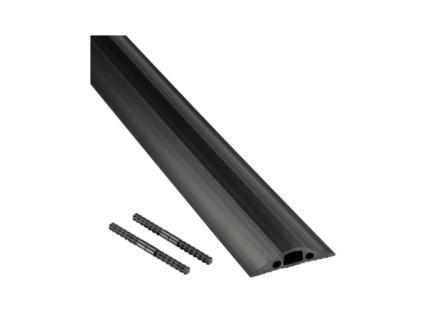 Floor Cover goulotte de sol 68mm 1,8m noir