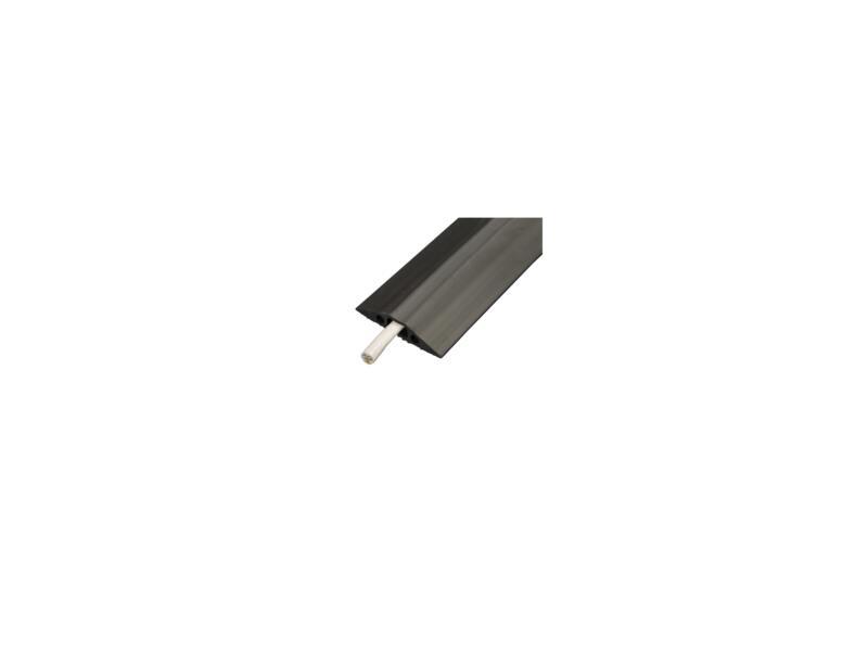 Floor Cover vloer kabelbrug 68mm 1,8m zwart