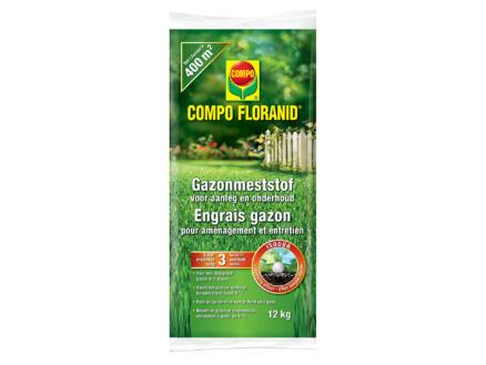 Compo Floranid engrais gazon aménagement & entretien 12kg